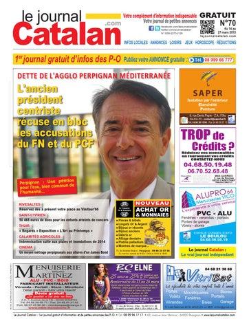 le journal catalan n 70 premier journal gratuit d 39 informations et de petites annonces des p o by. Black Bedroom Furniture Sets. Home Design Ideas