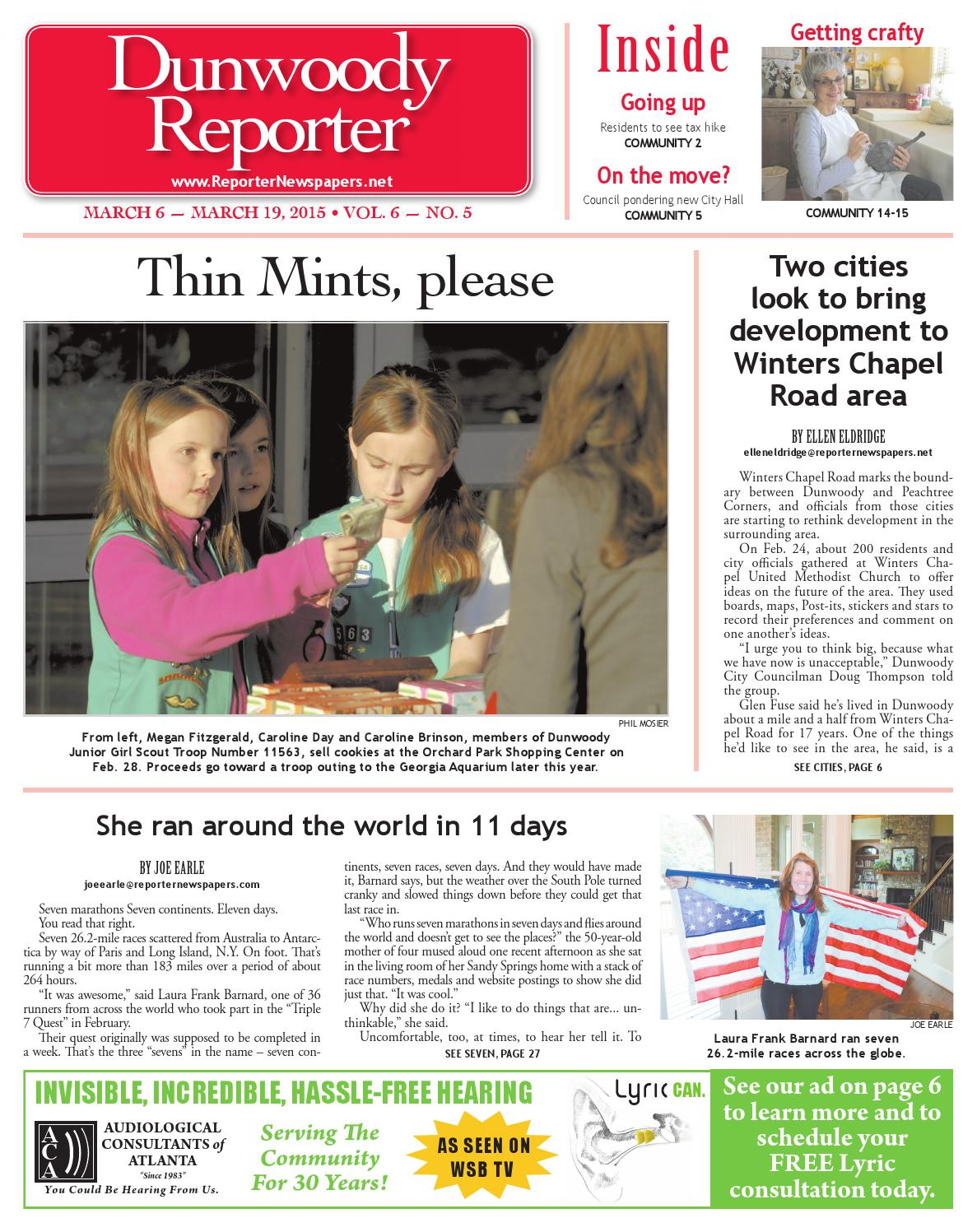03-06-2015 Dunwoody Reporter by Reporter Newspapers - issuu