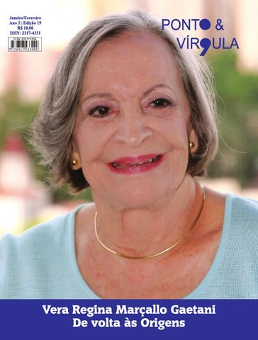 """Cover of """"Revista Ponto & Vírgula - Ano 3 - Edição 19 - Janeiro/Fevereiro 2015"""""""