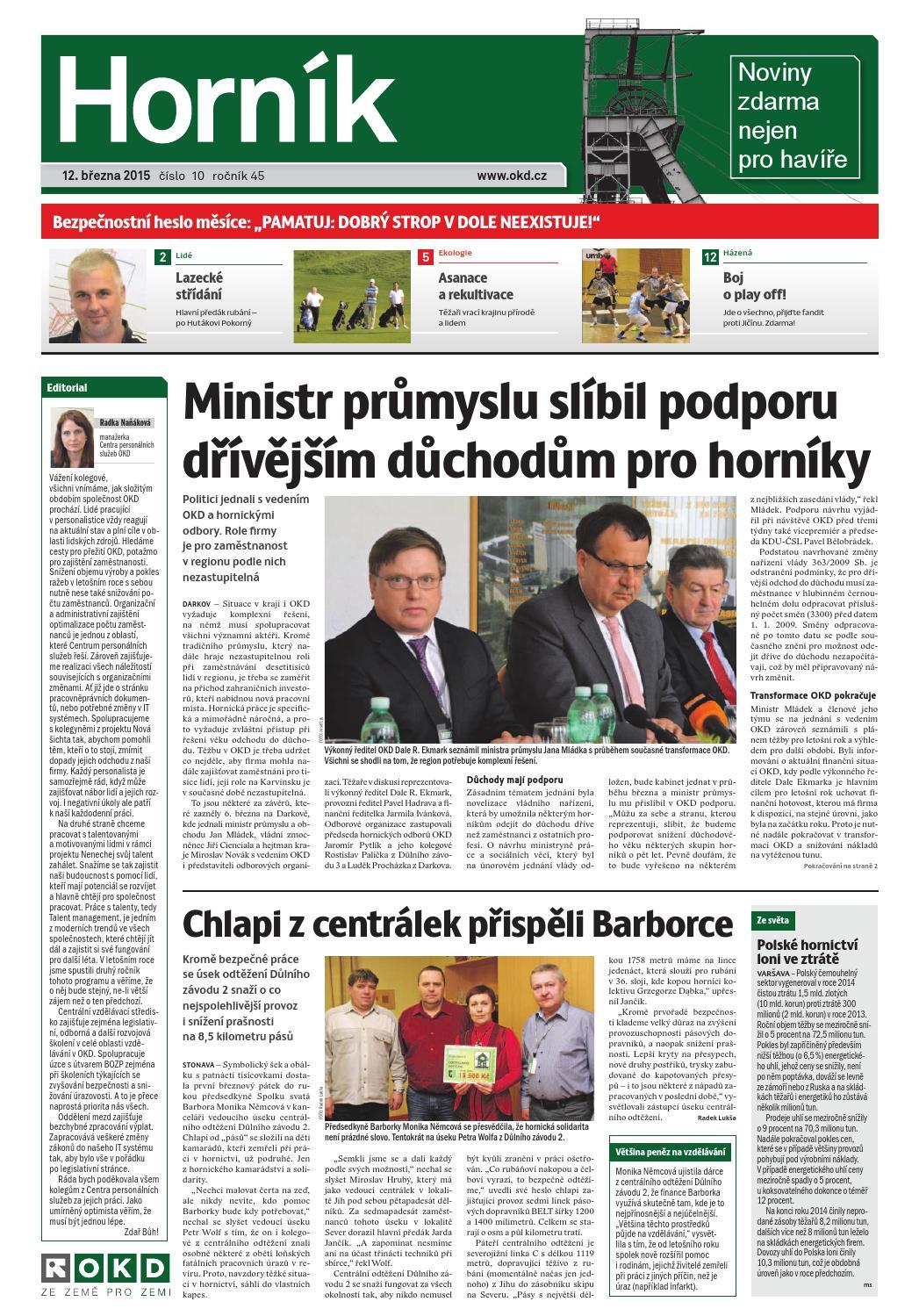 0305213285 Hornik 2015 10 by Noviny Hornik - issuu