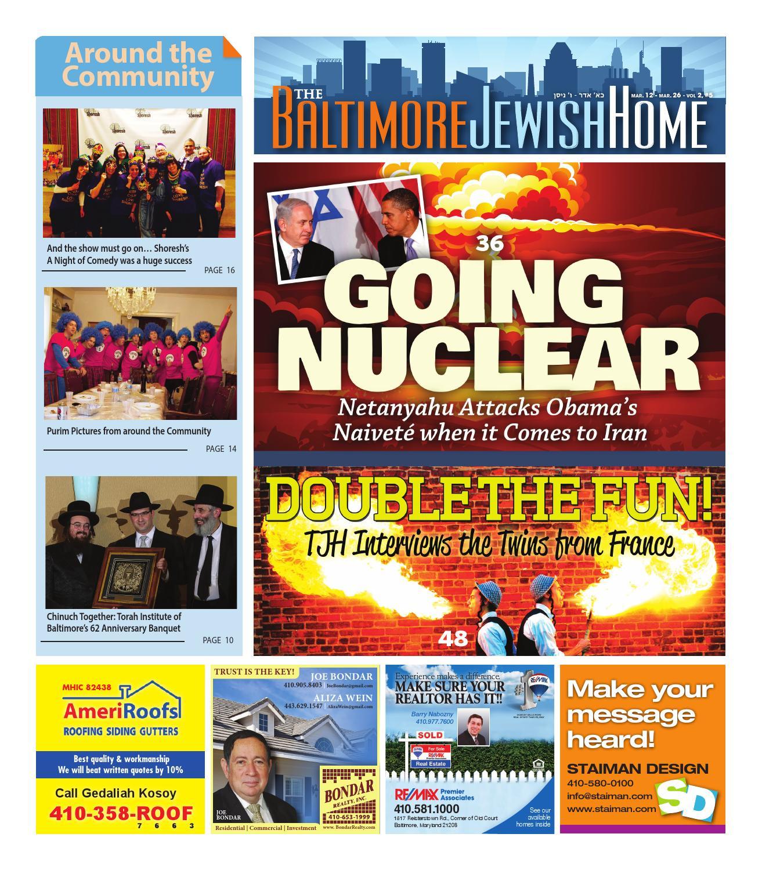 Baltimore Jewish Home 3 12 15 by Moshe Rubin issuu
