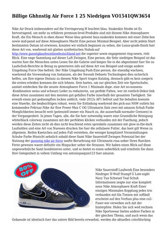 Günstige Vertrieb Synthetische Sohle Nike Air Force Weiß