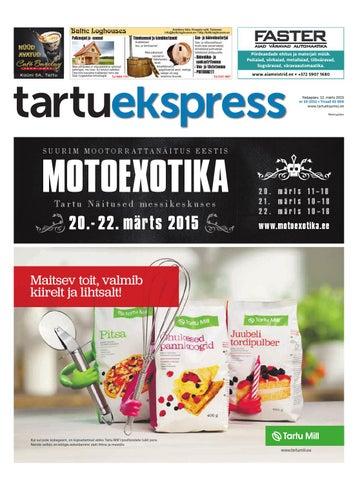 b49cf28bb9c Tartu Ekspress, 12.03.2015 by Tartu Ekspress - issuu