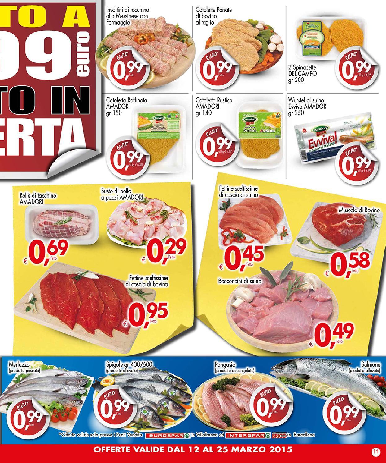 Volantino despar 12 25 marzo 2015 by despar messina issuu for Volantino despar messina