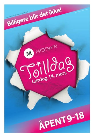77781dbc Toilldag i midtbyen by Midtbyen Management - issuu