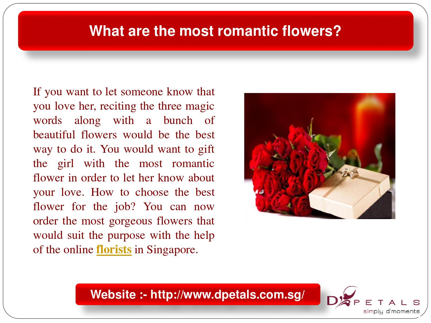 What Are The Most Romantic Flowers By Addy Smith Issuu
