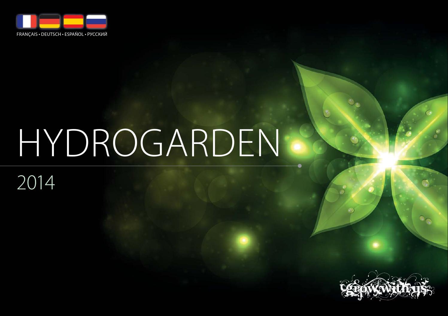 HydroGarden EU Catalogue by HydroGarden - issuu