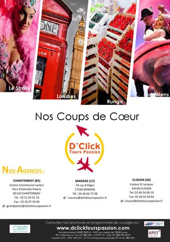 Coup de coeur by agence d 39 click issuu for Dans nos coeurs 85