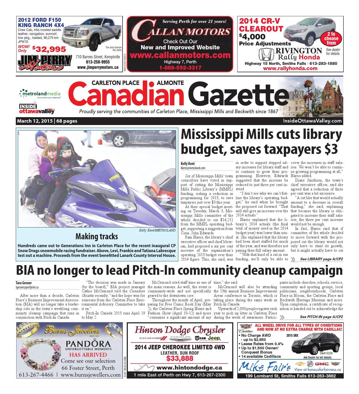 Almontecarletonplace031215 by metroland east almonte carleton place canadian gazette issuu