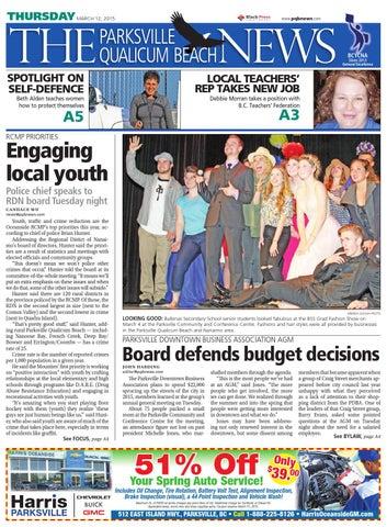 Parksville Qualicum Beach News, March 12, 2015 by Black Press Media