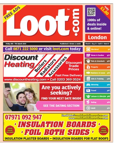 49c85dfaaaa3 Loot London 6th March 2015 by Loot - issuu