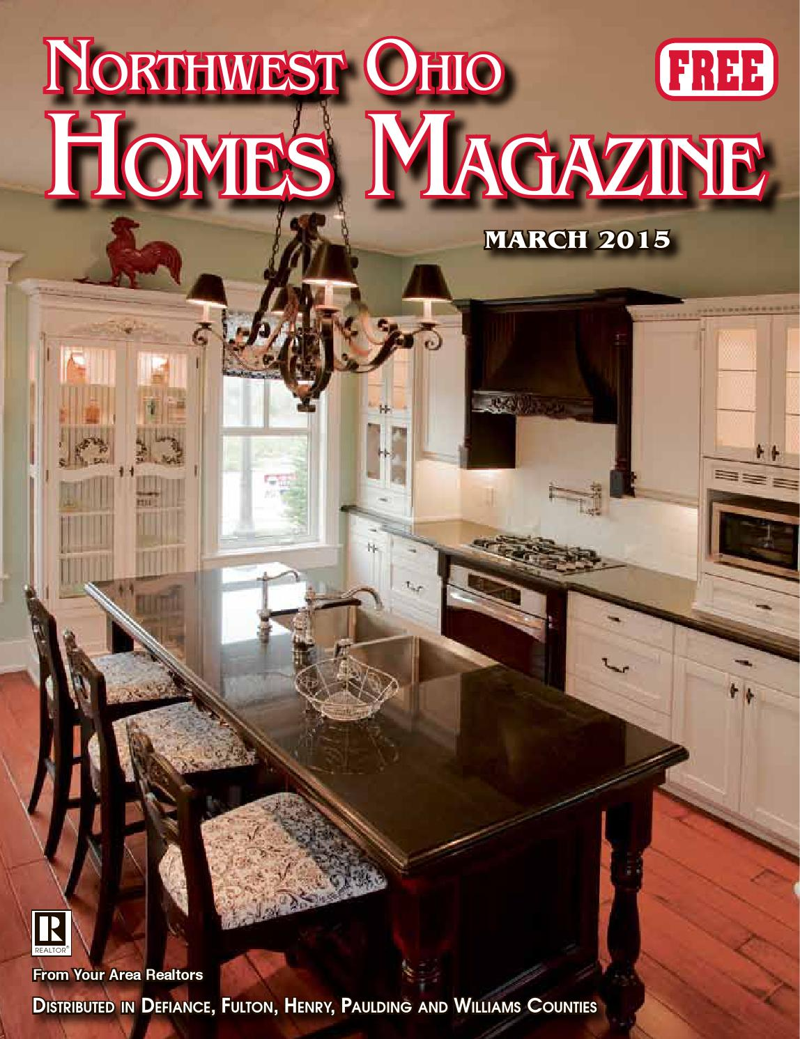 Northwest ohio homes magazine march 2015 by the crescent for Home builders in northwest ohio