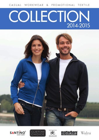 a8bda3ffd20 Casual workwear and promotional textile collection 2014-2015 by ...