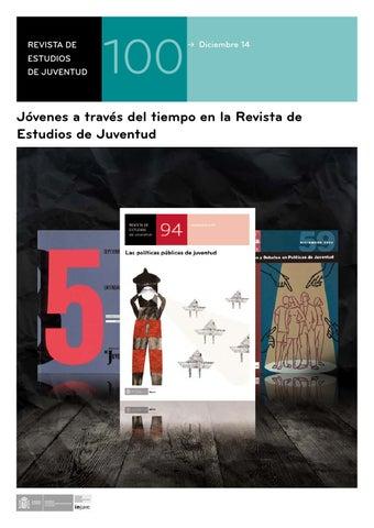 Nº 100 Jóvenes a través del tiempo en la Revista de Estudios de ... 998e066ee5d43