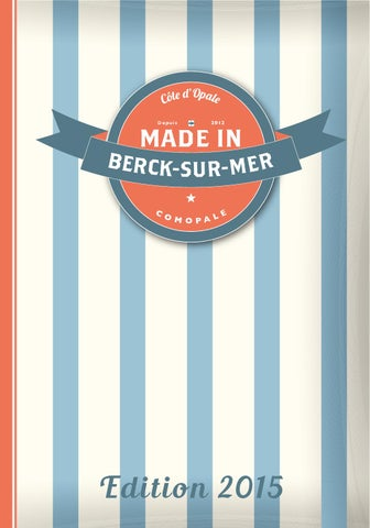 Made In Berck 2015 By Comopale Issuu