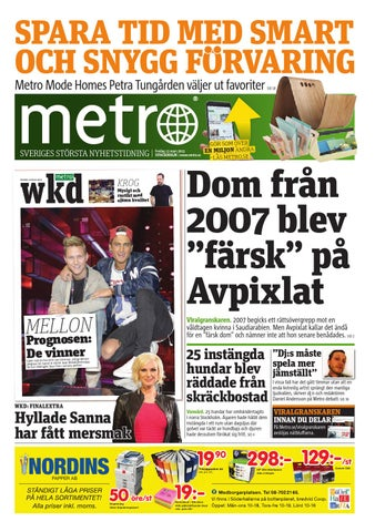 big sale a9efa dbd24 20150313 se stockholm by Metro Sweden - issuu