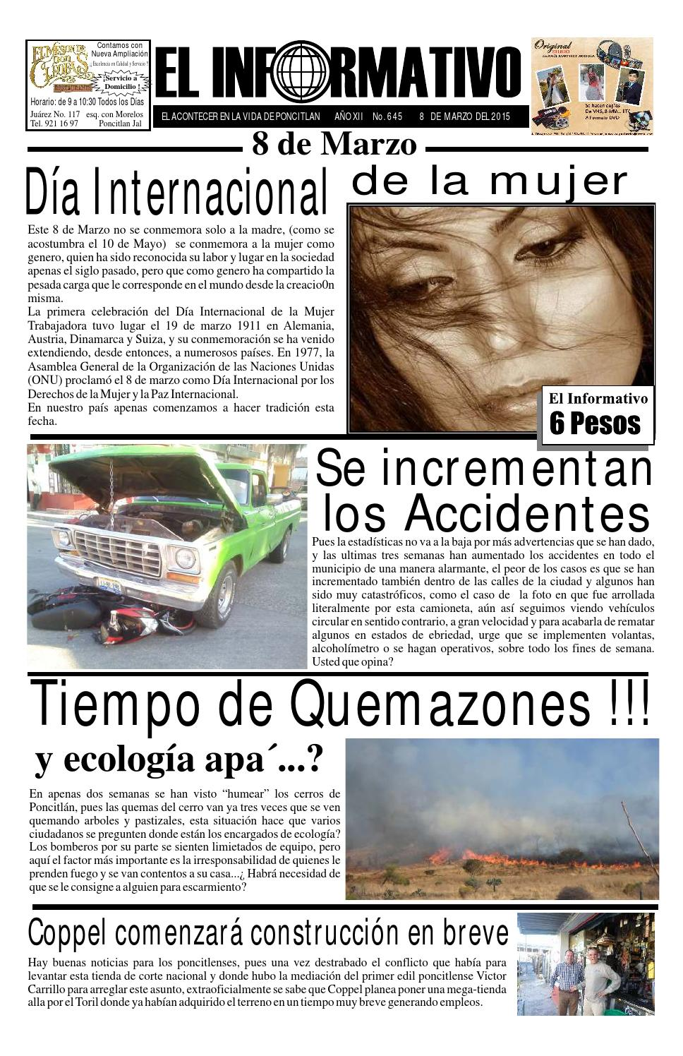 Periodico 645 by Lehabim Eliezer - issuu