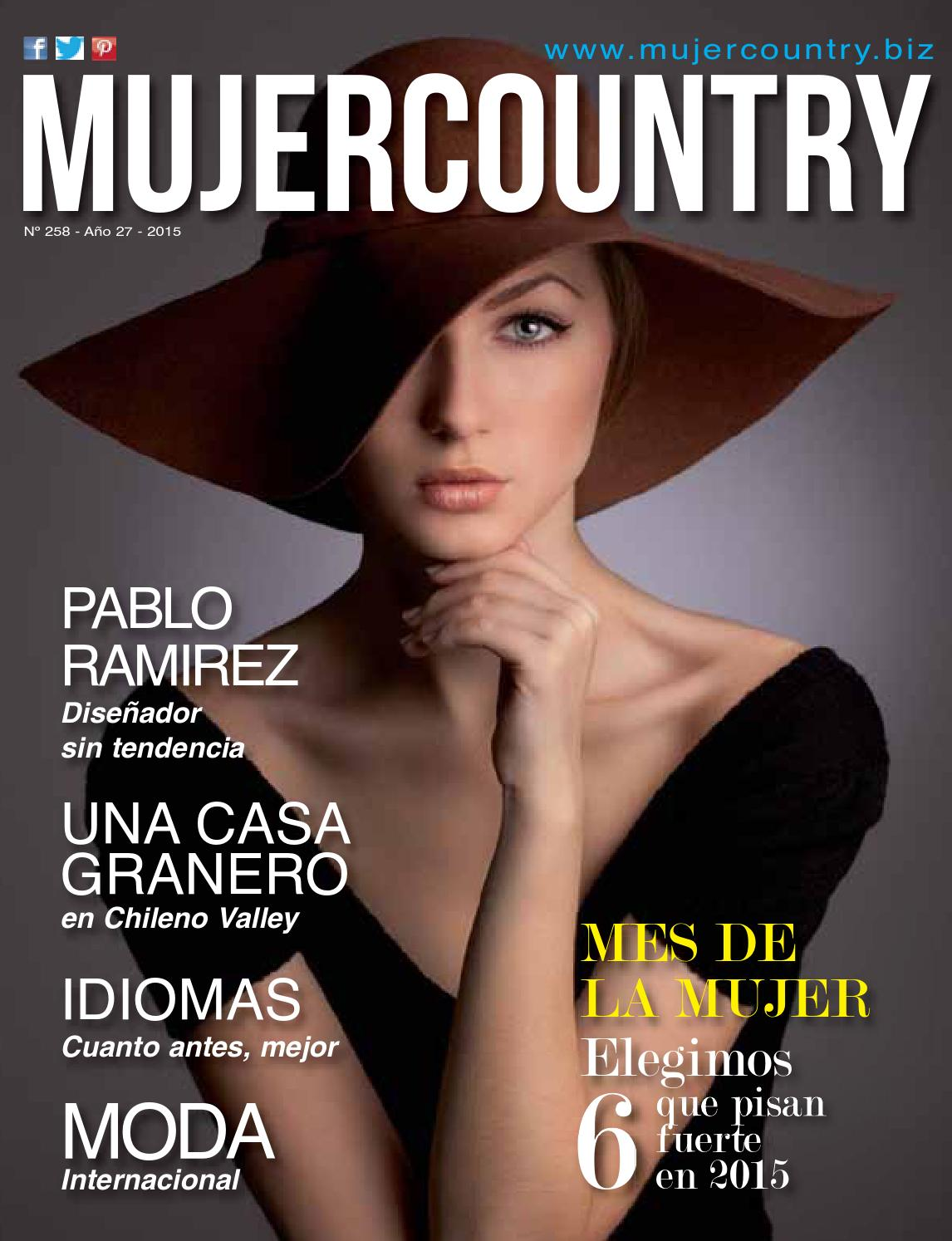 Mujer Country Nª 258 - Marzo 2015 by MujerCountry Revista Femenina - issuu 5cd2866d7a6