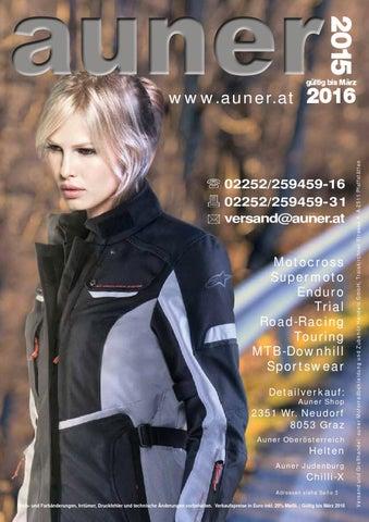 auner katalog 2015 by auner motorradbekleidungs und zubehör handels