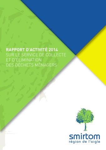 Pays 2014 Issuu D'activité Smirtom L'aigle By Rapport De nCvT5wx