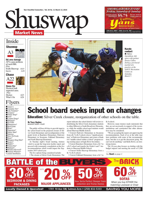 Salmon Arm Observer, March 13, 2015 by Black Press Media