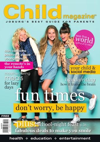 Child Magazine Jhb April 2015 By Hunter House Publishing Issuu
