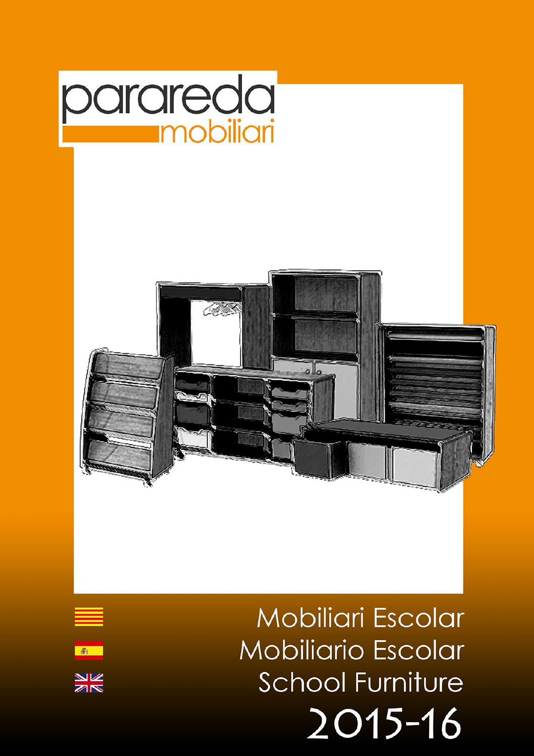 Parareda Mobiliari Escolar School 2015 16 By Parareda