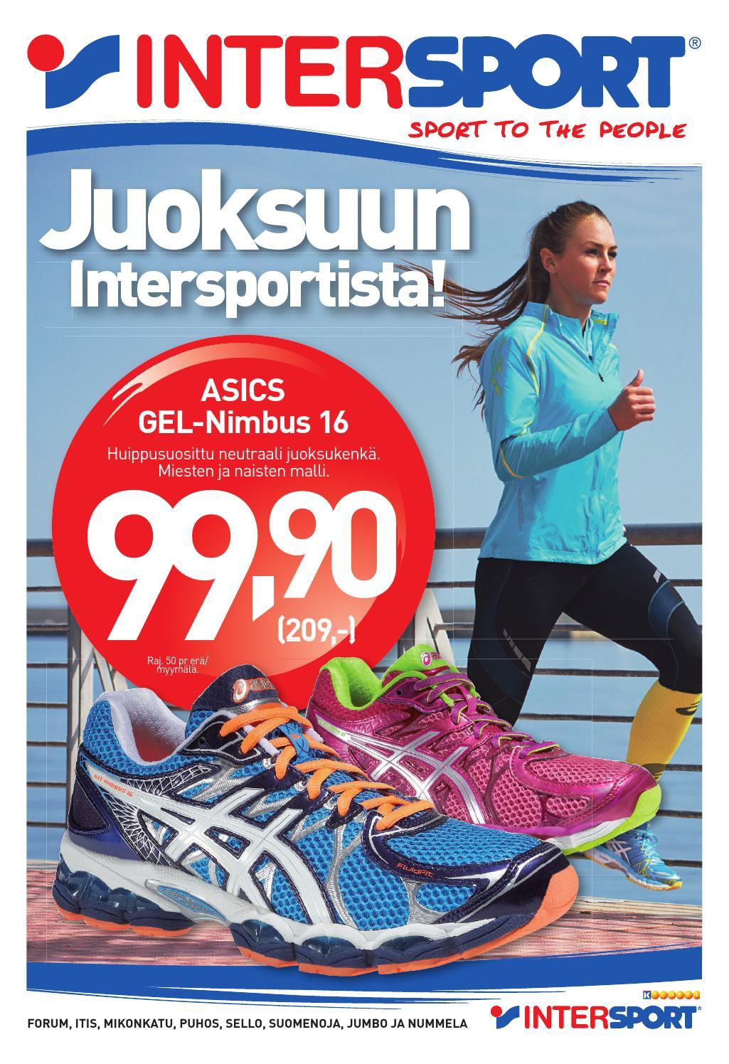 Intersport Juoksukengät