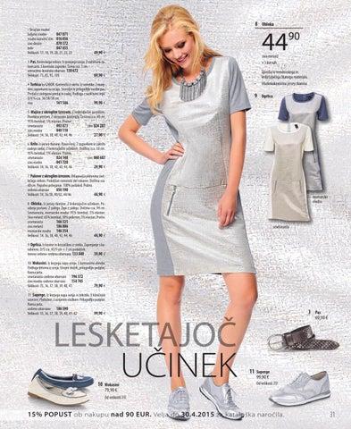 8 Obleka • Skrajšan model beljeno modre 047 071 modro kameno sive 016 056  sive denim 070 372 bele 047 655 Velikosti  17 236cc3d115e