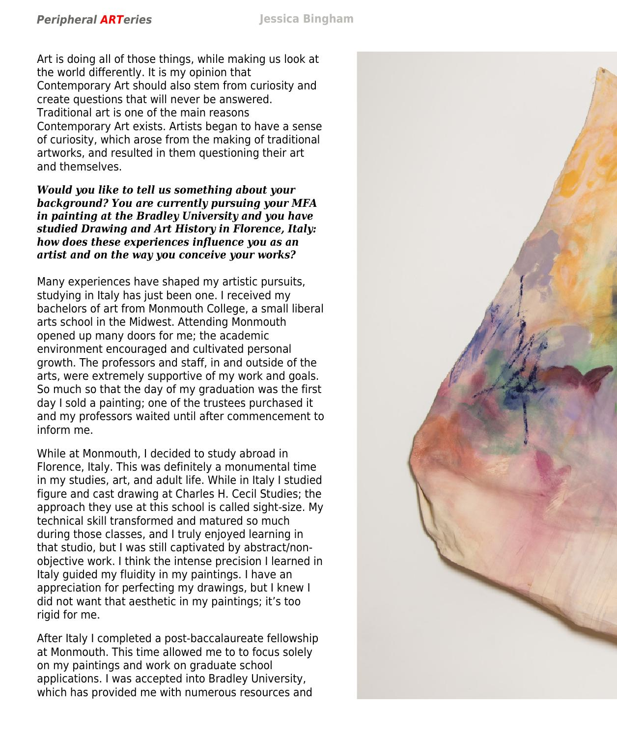 peripheral arteries art review march 2015 by artpress issuu