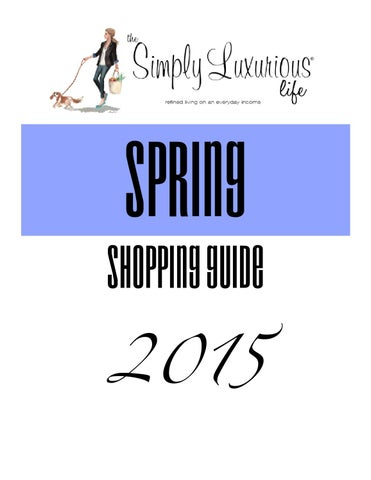 8eff2d68d1d006 Shopping Guide 2015 by medianet - issuu