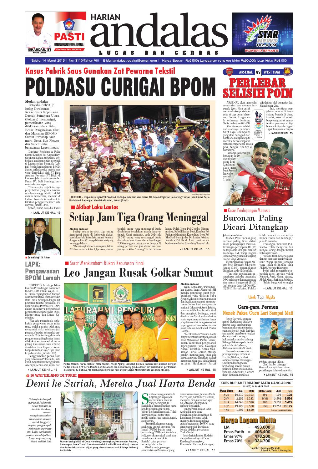 Epaper andalas edisi sabtu 14 maret 2015 by media andalas - issuu fa6a938f9c