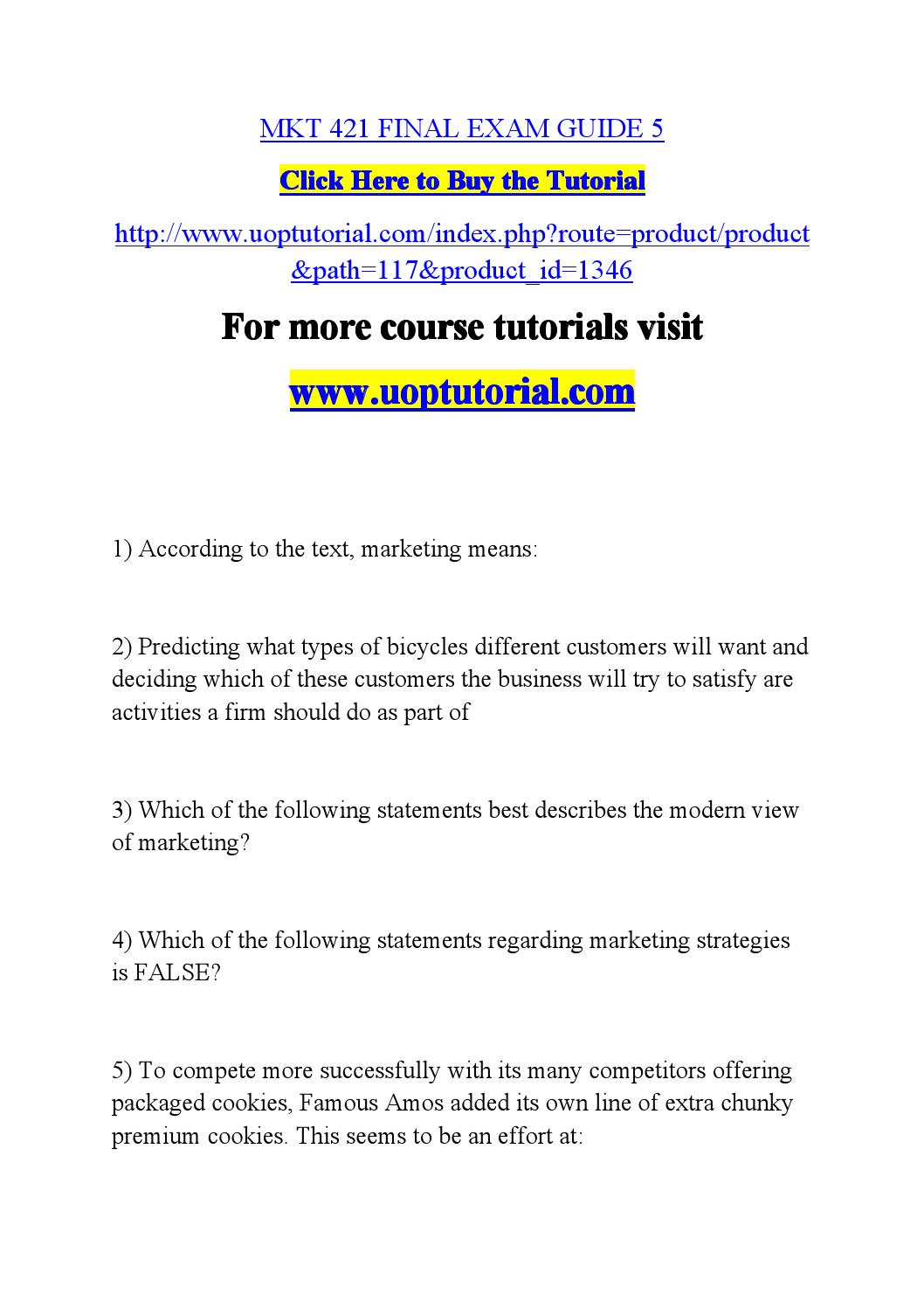Which of the following statements best describes the modern view of marketing