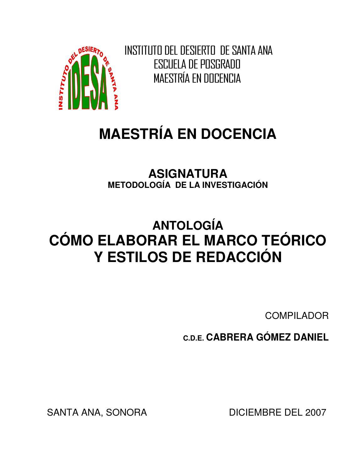 Metodologia de la investigacion i by ProfJuanRuiz-IDESA - issuu
