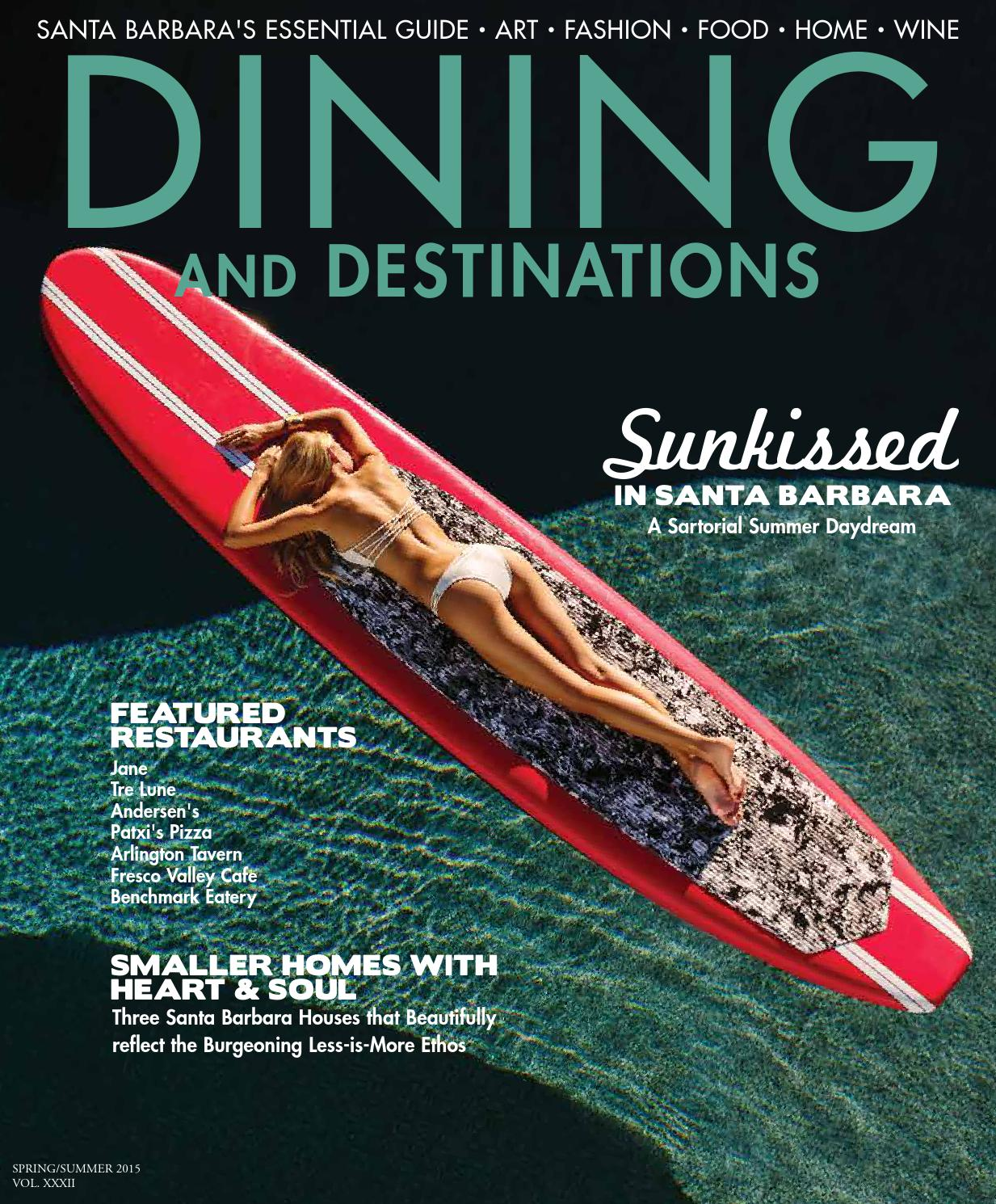 Santa Barbara Dining and Destinations Spring/Summer 2015 by Santa ...