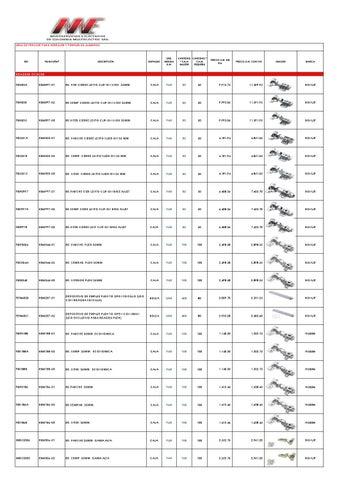 Lista de precios herrajes multielectric 2015 by - Perfil de aluminio precio ...