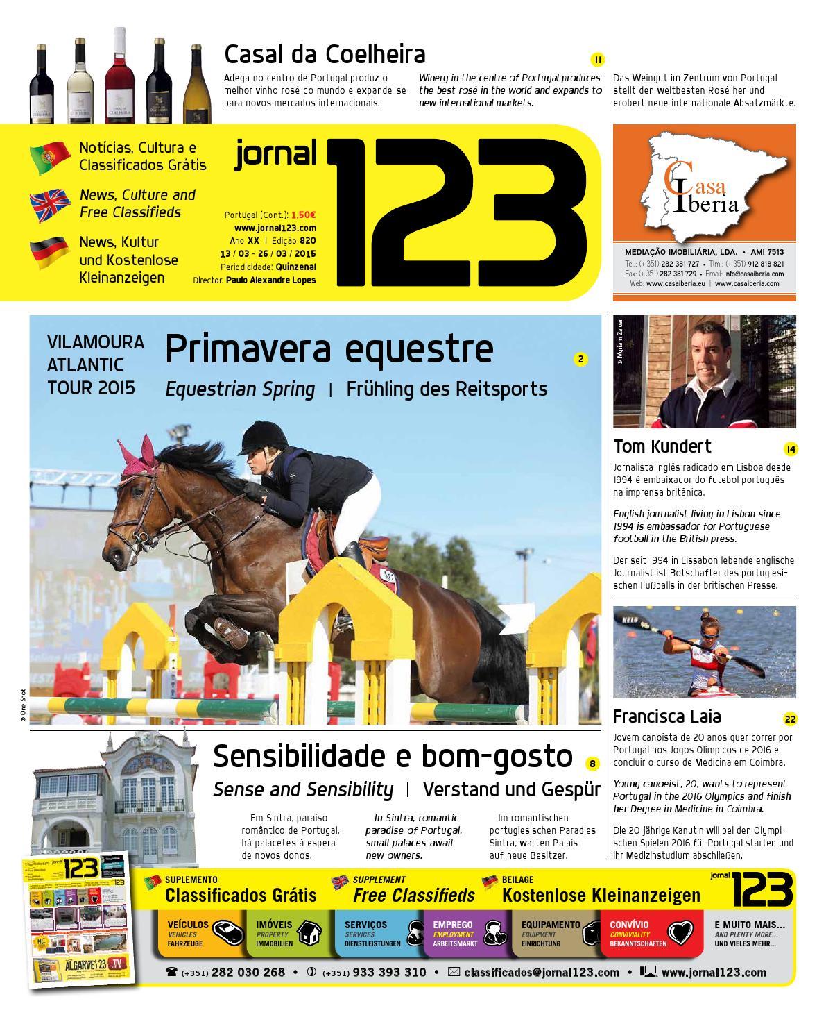 Jornal123 - Jornal 1•2•3 ▻ 820 by Tourvision Foundation - issuu