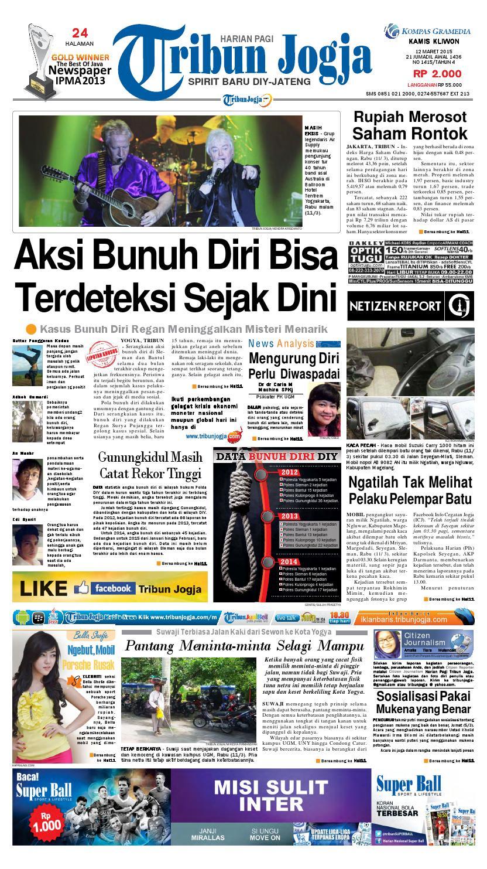 Tribunjogja 12 03 2015 By Tribun Jogja Issuu Produk Ukm Bumn Wisata Mewah Bali 3hr 2mlm