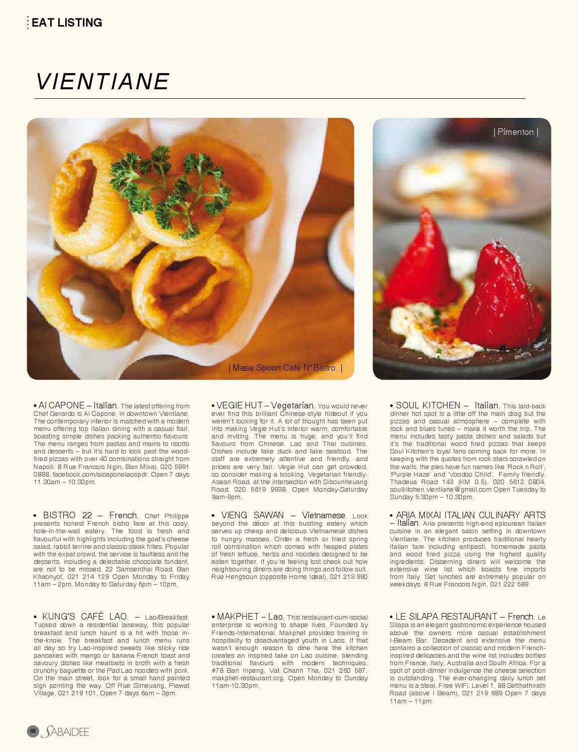 Sabaidee - Lao lifestyle & travel magazine issue 24 by