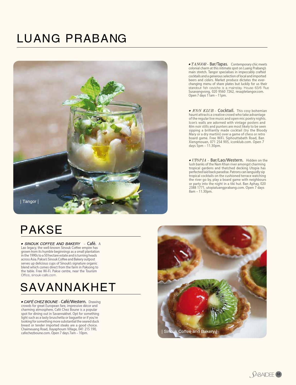 889306eba5 Sabaidee - Lao lifestyle & travel magazine issue 24 by Sabaidee Magazine -  issuu