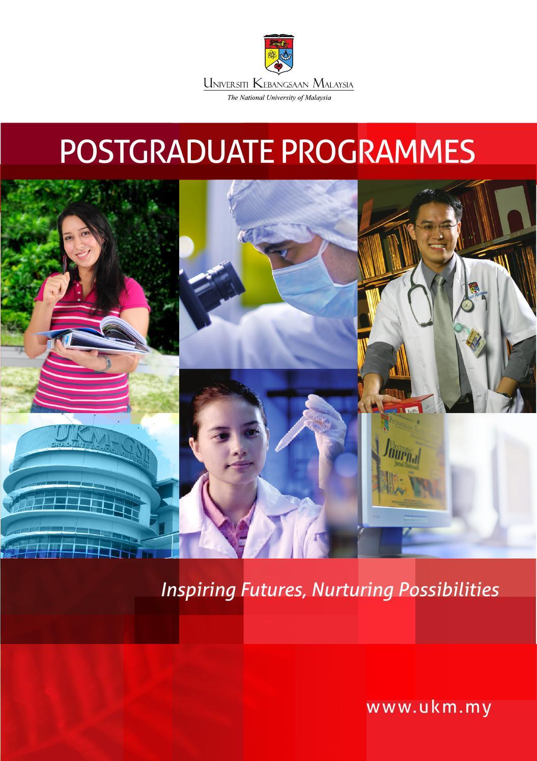 National University Of Malaysia Ukm Postgraduate Programmes Prospectus By Cn Very Issuu