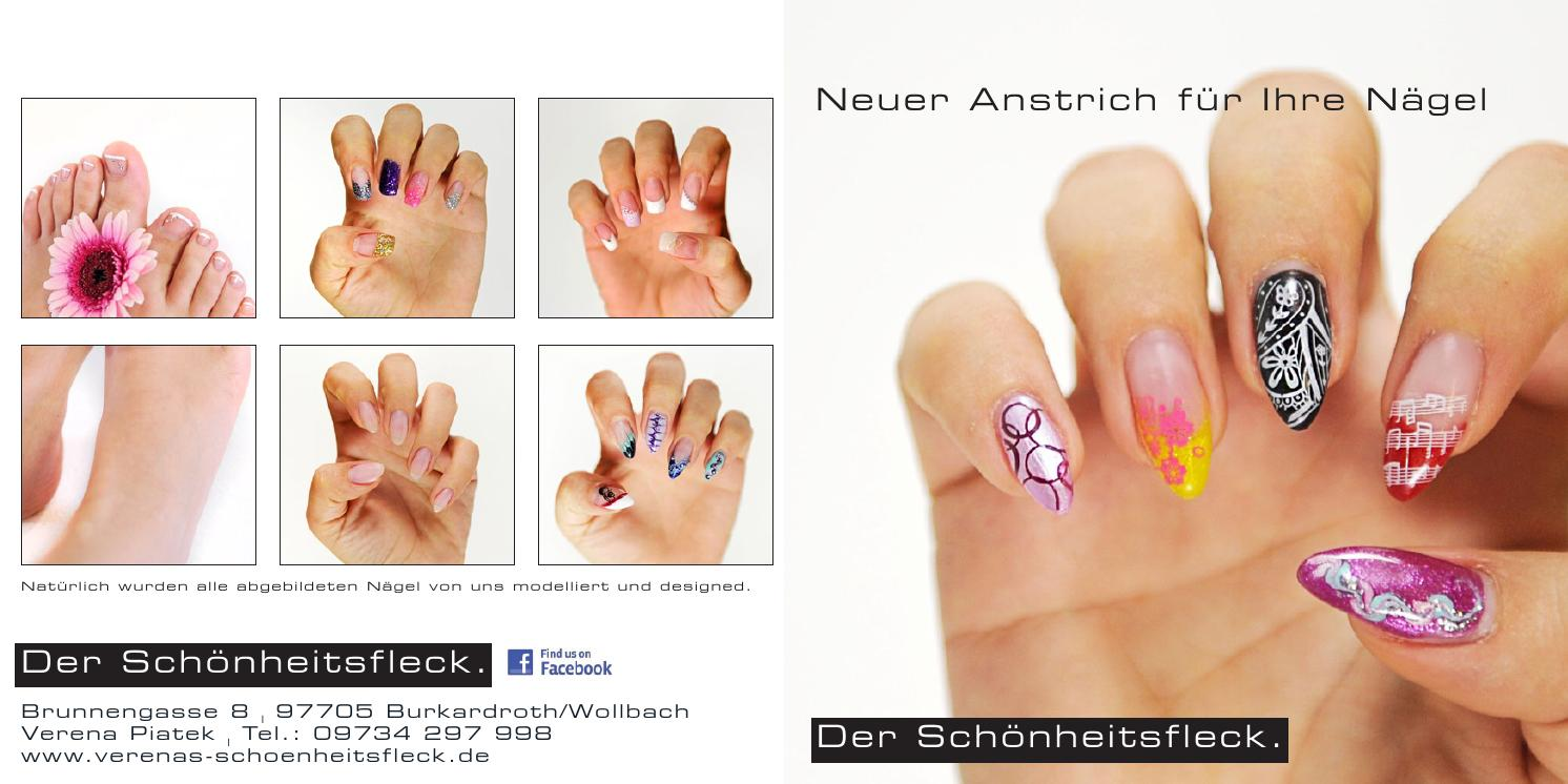 Shf nagelflyer by Verenas Schönheitsfleck - issuu