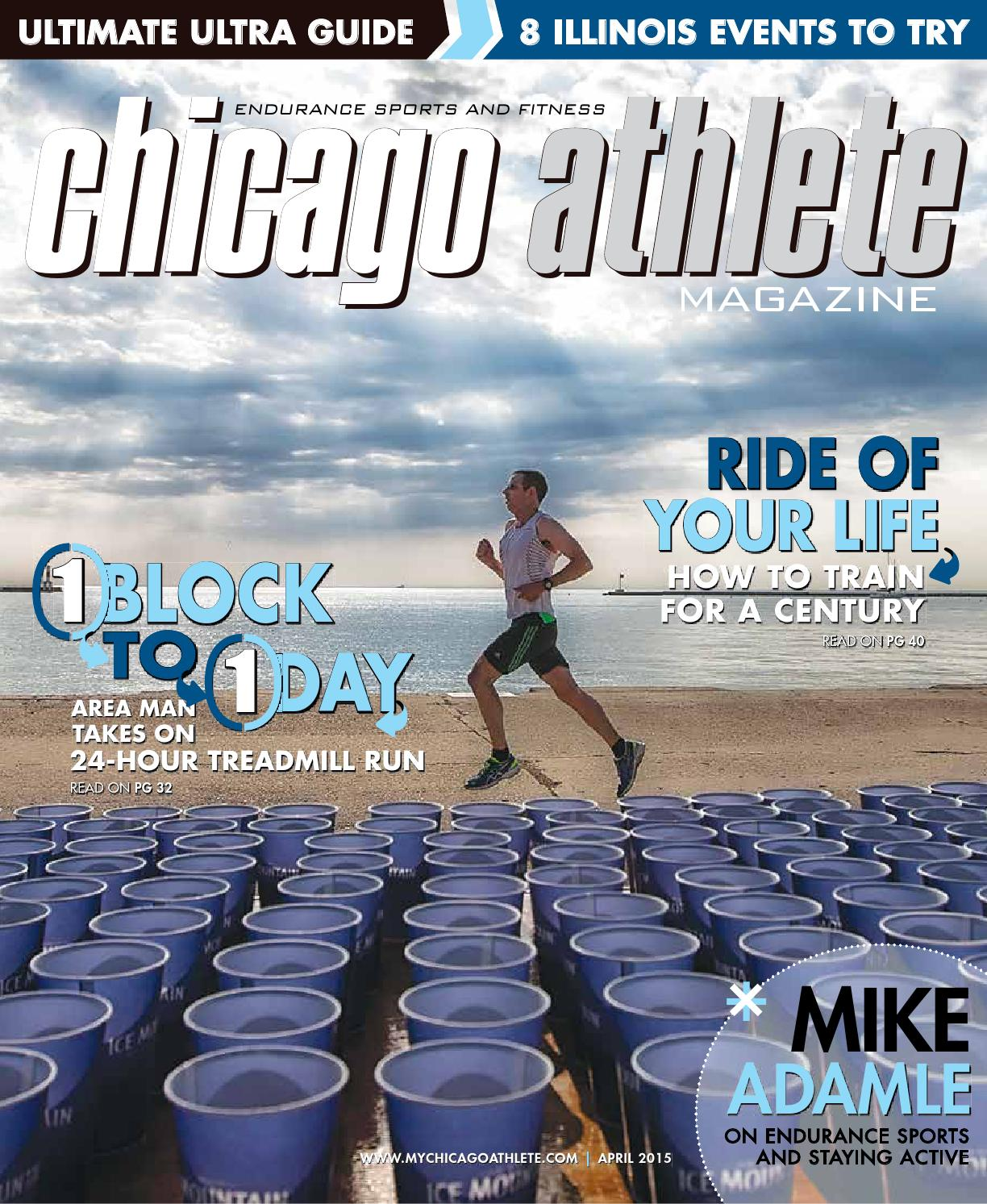 Chicago Athlete 2016 June July Issue By Kelli L Issuu Aqua Water Jogging Belt For Your Run Cross Training Post Stroke Attack Size M April 2015