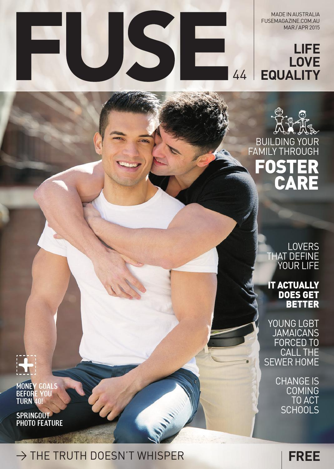 from Finley magazines gay lifestyle