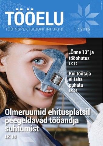 17cd22fca4e Tööinspektsiooni infokiri Tööelu 1 / 2015 by Tööinspektsioon - issuu