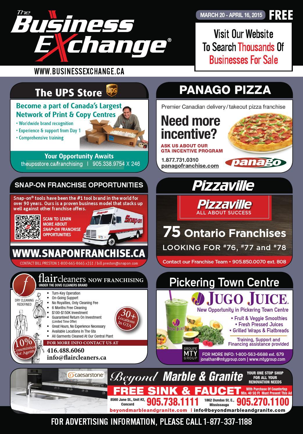 f76db6ec8b2e The Business Exchange Magazine - Ontario Edition - March 20 by The Business  Exchange Corp - issuu