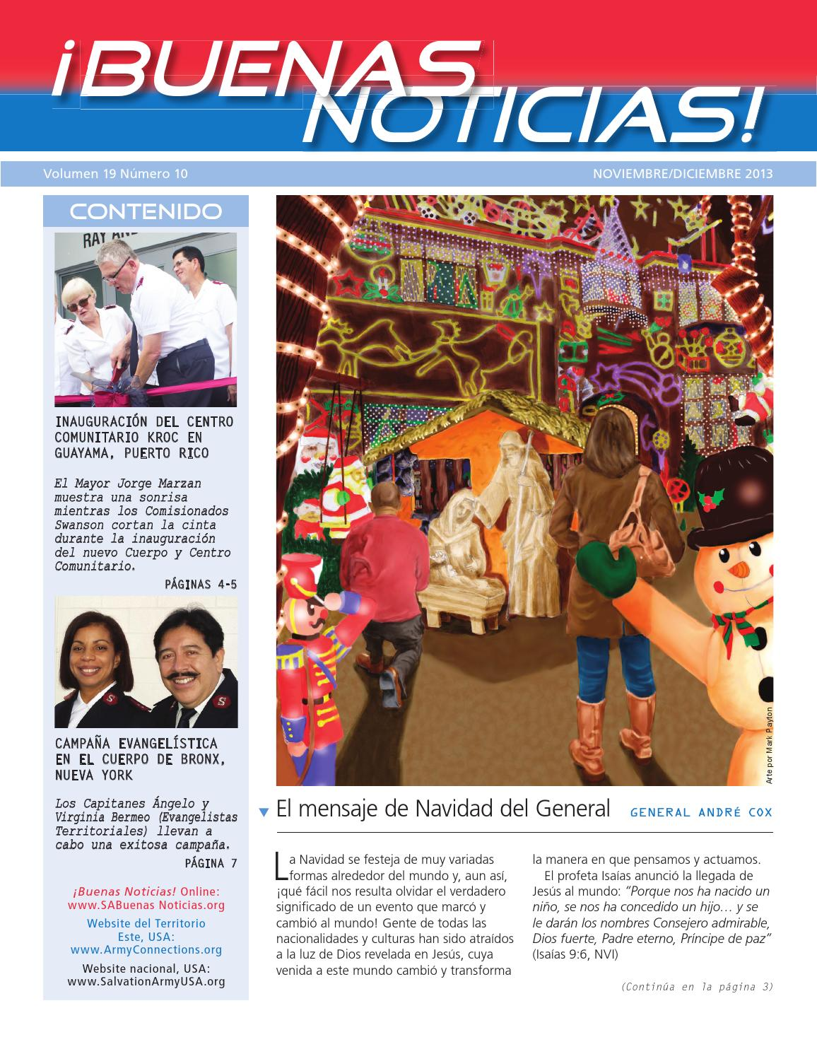 Buenas Noticias! Vol.19 No.10 by The Salvation Army: SAconnects - issuu