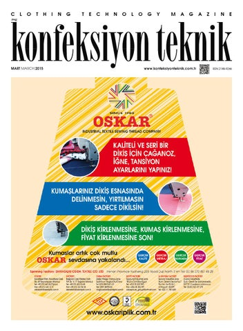 58d057a2ef9b9 Konfeksiyon Teknik Mart'15 by Konfeksiyon Teknik - issuu
