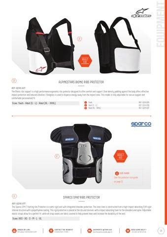 ALPINESTARS Bionic Rib Support YOUTH protection VEST fibreglass