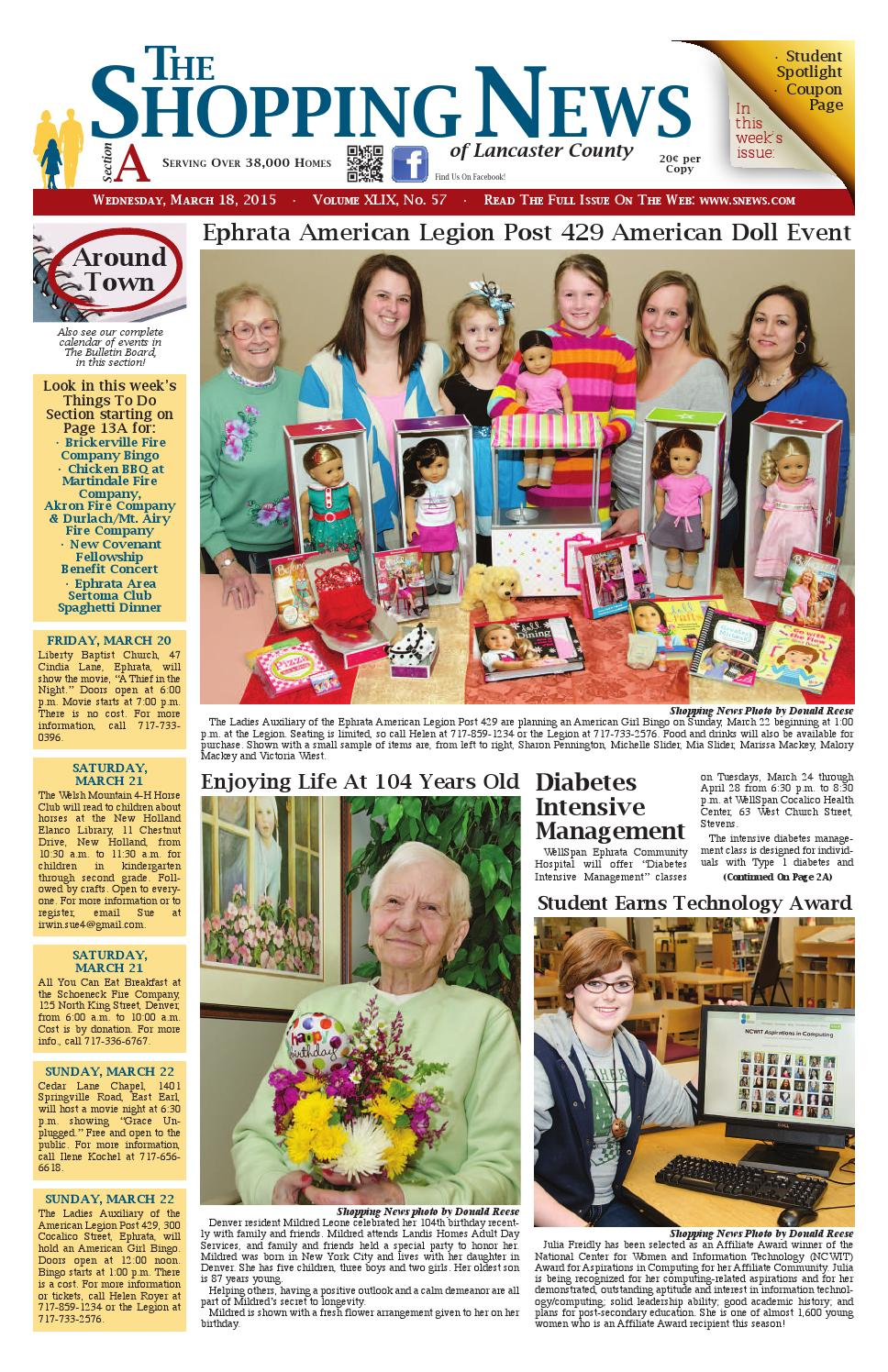 3.18 issue by Shopping News - issuu on